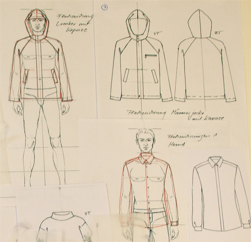 F f schule f r kunst und design modedesign hf for Modezeichnen kurs